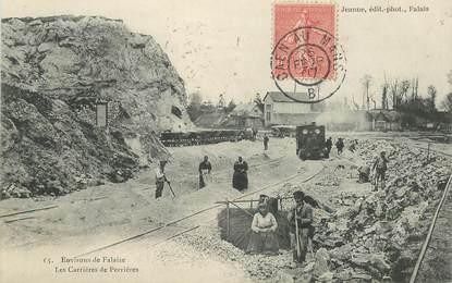 """CPA FRANCE 14 """"Environs de Falaise, les Carrières de Perrières"""""""