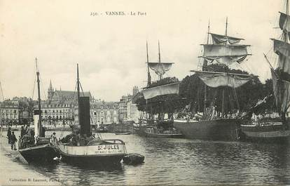 """/ CPA FRANCE 56 """"Vannes, le port"""""""