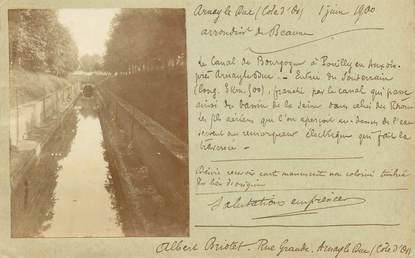 """PHOTO FRANCE 21 """"Arnay le Duc"""" / photo collée sur entier postal type Sage"""