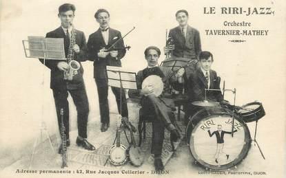 "CPA  FRANCE 21 ""Dijon, Le Riri Jazz, orchestre Tavernier Mathey"""