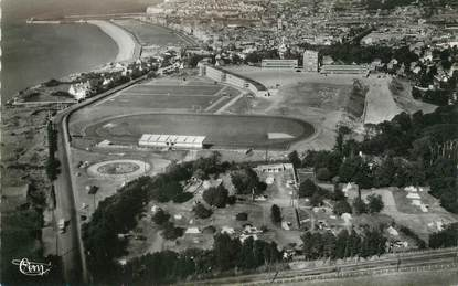 """/ CPSM FRANCE 76 """"Dieppe, le camping""""  / STADE"""