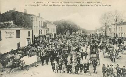 """CPA FRANCE 33 """"Sauternes, la Maison Lillet, limonadiers et marchands de vins de Bordeaux"""""""