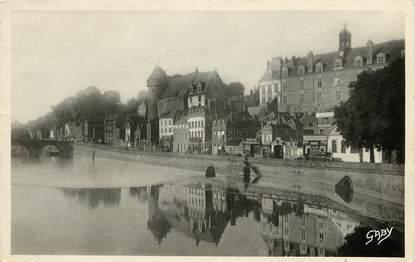 """CPSM FRANCE 53 """"Laval, la Mayenne et le Chateau"""""""