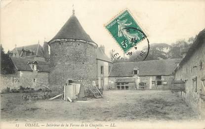 """/ CPA FRANCE 76 """"Oissel, intérieur de la ferme de la Chapelle"""""""