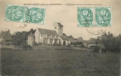 """/ CPA FRANCE 21 """"Saint Gervais sur Couches, l'église"""""""