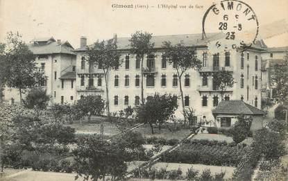 """/ CPA FRANCE 32 """"Gimont, l'hôpital vue de face"""""""