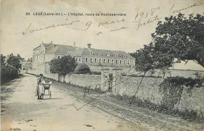 """/ CPA FRANCE 44 """"Legé, l'hôpital, route de Rocheservière"""""""
