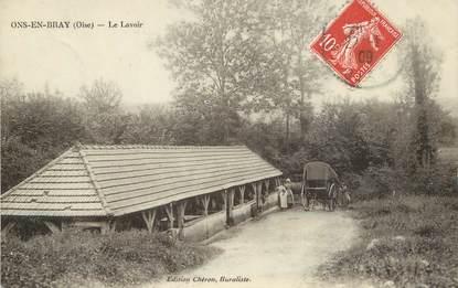 """/ CPA FRANCE 60 """"Ons en Bray, le lavoir"""""""