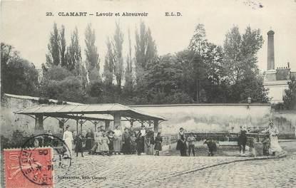 """/ CPA FRANCE 92 """"Clamart, lavoir et abreuvoir"""""""