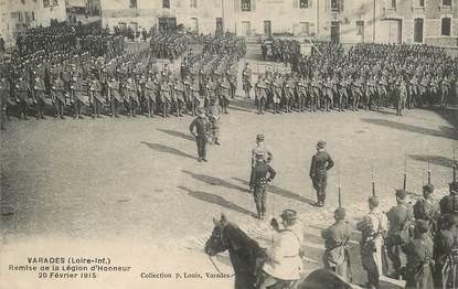 """CPA FRANCE 44 """"Varades, remise de la Légion d'Honneur, 1915"""""""