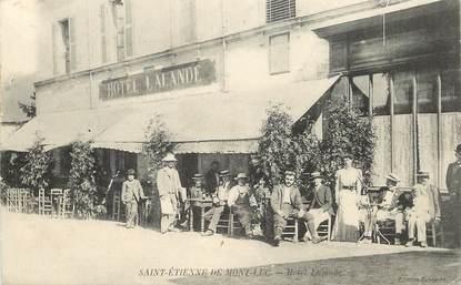 """CPA FRANCE 44 """"Saint Etienne de Mont Luc, Hotel Lalande"""""""