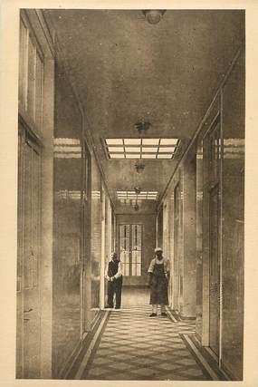 """/ CPA FRANCE 54 """"Mont Saint Martin, l'hôtel Dieu, les couloirs"""""""