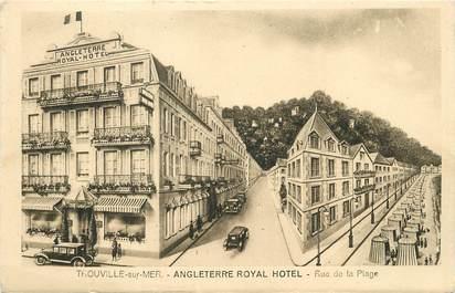 "/ CPA FRANCE 14 ""Trouville, Angleterre Royal Hôtel"""
