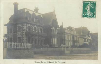 "/ CPA FRANCE 14 ""Trouville, villas de la terrasse"""