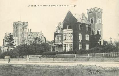 """/ CPA FRANCE 14 """"Trouville, villas Elisabeth et Victoria Lodge"""""""