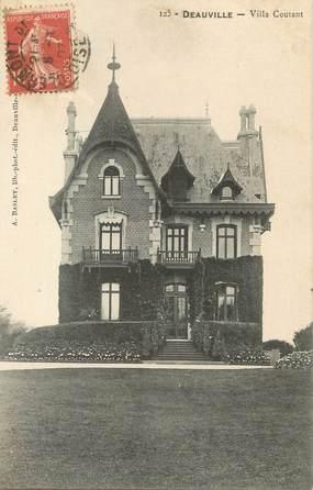 "/ CPA FRANCE 14 ""Deauville, villa Coutant"""