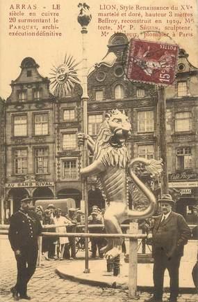 """CPA FRANCE 62 """"Arras, Le Lion"""""""