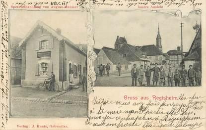 """CPA FRANCE 68 """"Gruss aus Regisheim"""""""