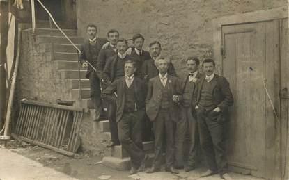 "CARTE PHOTO FRANCE 71 ""Chalon"" 1907"