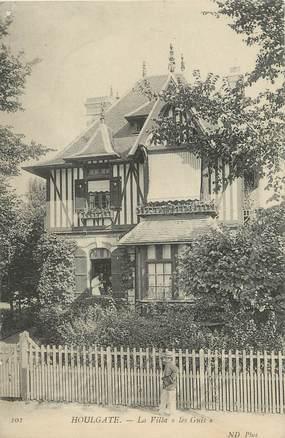 """/ CPA FRANCE 14 """"Houlgate, la villa les Guis"""""""