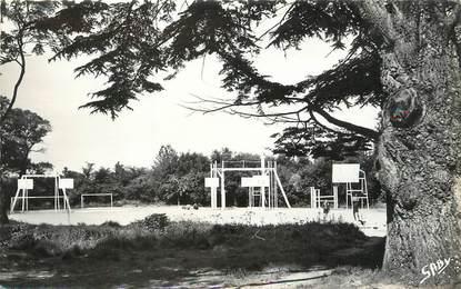 "/ CPSM FRANCE 14 ""Houlgate, centre d'Education Populaire, villa Madeleine"" / BASKET"