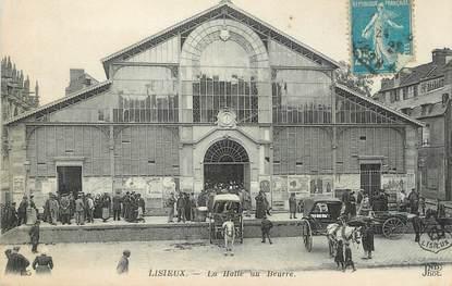 """/ CPA FRANCE 14 """"Lisieux, la Halle au Beurre"""""""