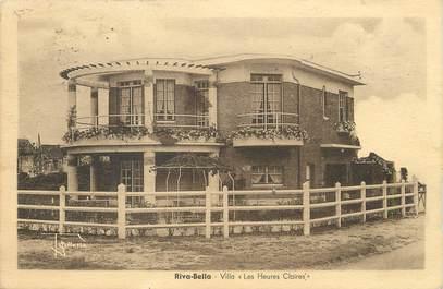 """/ CPA FRANCE 14 """"Riva Bella, villa Les Heures Claires"""""""