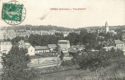 """/ CPA FRANCE 14 """"Orbec, vue générale"""""""