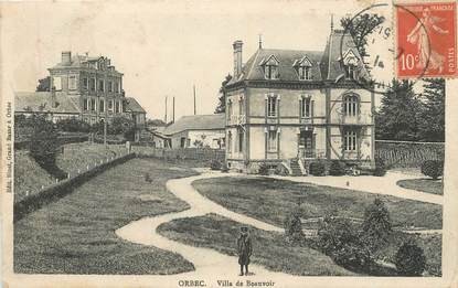 "/ CPA FRANCE 14 ""Orbec, villa de Beauvoir"""