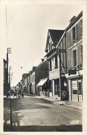 """/ CPSM FRANCE 14 """"Saint Aubin, rue du Maréchal Joffre"""""""