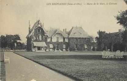"""/ CPA FRANCE 78 """"Les Breviaires, haras de la Mare, le château"""""""