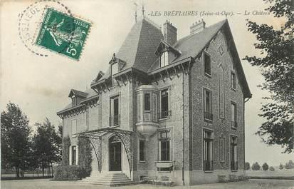 """/ CPA FRANCE 78 """"Les Breviaires, le château"""""""