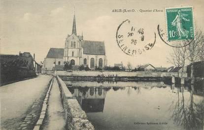 """/ CPA FRANCE 78 """"Ablis, quartier d'Arras"""""""