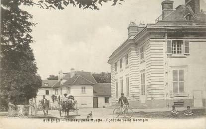 """/ CPA FRANCE 78 """"Achères, château de la Muette"""""""