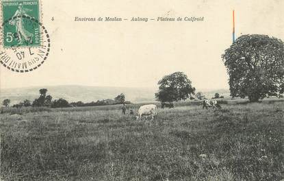 "/ CPA FRANCE 78 ""Aulnay, plateau de Culfroid"""