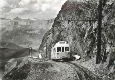 """/ CPSM FRANCE 74 """"Col de Voza, glacier de Bionnasay"""" / TRAMWAY"""