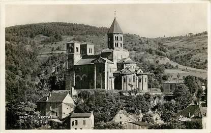 """CPSM FRANCE 63 """"Saint Nectaire les Bains, L'Eglise"""""""