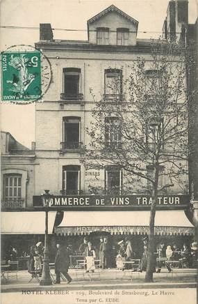 "CPA FRANCE 76 ""Le Havre, Hotel Kleber"""