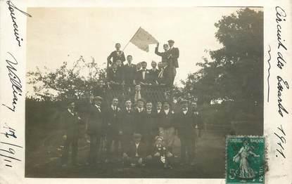 """CARTE PHOTO FRANCE 76 """"Les Essarts, 1911"""""""