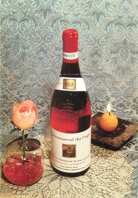 """/ CPSM FRANCE 84 """"Châteauneuf du Pape, domaine de la Roquette R Laugier"""""""