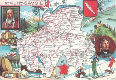 """/ CPSM FRANCE 74 """"Haute Savoie"""""""