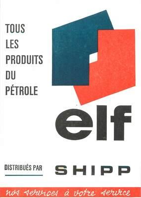 """/ CPSM FRANCE 76 """"Barentin"""" / CARTE PUBLICITAIRE / PETROLE"""