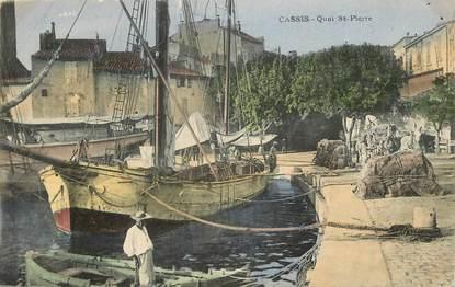 "CPA FRANCE 13 ""Cassis, Quai Saint Pierre"""