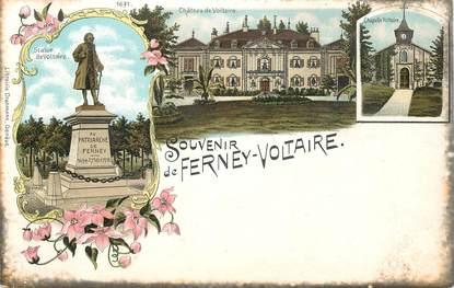 """CPA FRANCE 01 """"Souvenir de Ferney Voltaire"""""""