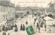 """61 Orne CPA FRANCE 61 """"Trun, Les Halles et le marché au Beurre et aux Oeufs"""""""