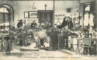 "CPA FRANCE 56 ""Saint Michel en Priziac, la couture"""