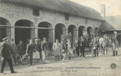 """CPA FRANCE 56 """"Saint Michel en Priziac, Ecole professionnelle"""""""