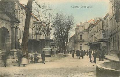 """CPA FRANCE 13 """"Salon, cours carnot"""""""