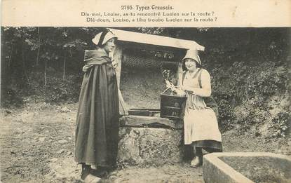 "/ CPA FRANCE 23 ""Type Creusois"" / FOLKLORE"