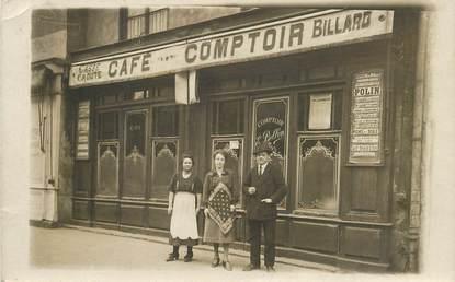 """CARTE PHOTO FRANCE 69 """"Lyon, Café Comptoir Bellon"""""""